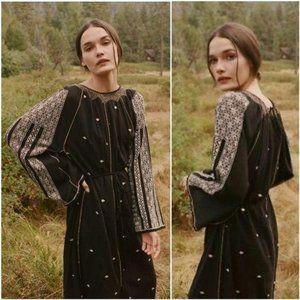 Doen Caravan Boho Embroidered Maxi Dress
